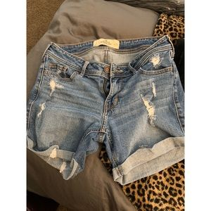 Hollister midi shorts stretch